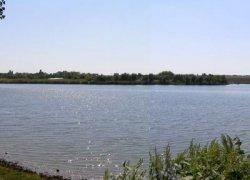 Рыбалка у села Крымка в Запорожской области-1
