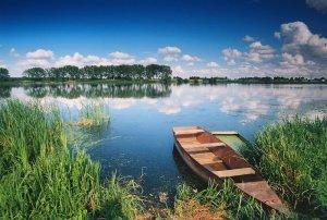 Добротворское водохранилище во Львовской области