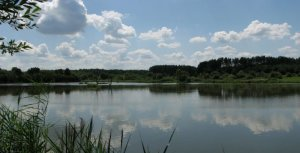 Нижнее озеро в Спасе Львовской области