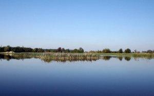 Озеро в Бабичах Львовской области