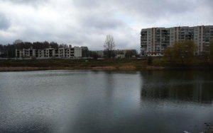 Озеро в Дублянах Львовской области