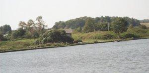 Озеро в Гологорах Львовской области
