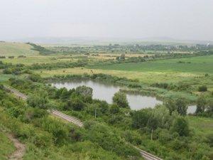 Озеро в Мервичах Львовской области