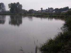 Озеро в Ременове Львовской области
