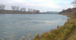 Озеро в Ремезовцах Львовской области
