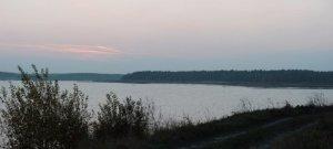 Озеро в селе Корчев Львовской области