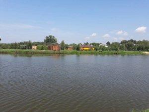 Озеро возле Кривичей Львовской области