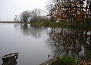 Рыбалка у Нового Села во Львовской области