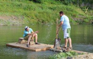 Рыбалка в Славском Львовской области