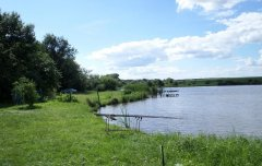 Водоем Дерябино в Кировоградской области