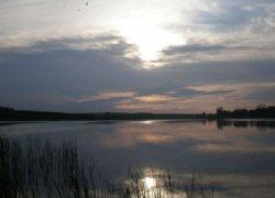 Рыбалка на ставке в с. Бабин Ровенской области-1