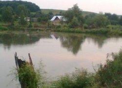 Рыбалка у села Колоденка в Ровенской области-1