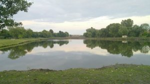 Озеро в Скнилове Львовской области