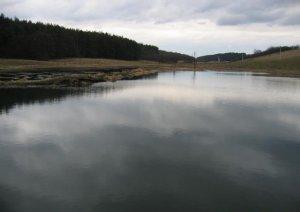 Озеро в Старом Селе Львовской области