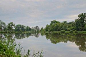 Первое озеро в Гаях Львовской области