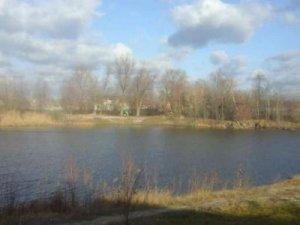 Рыбалка на озере в с. Гнедин Киевской области-1
