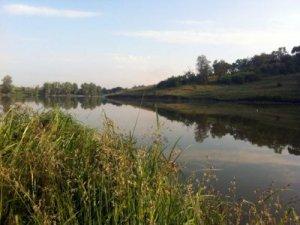 Рыбалка на озере в с. Веремье Киевской области-1