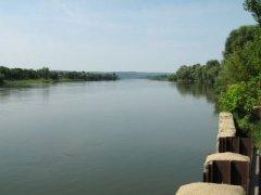 Рыбалка на реке в с. Грушка Ивано-Франковской области-1
