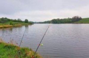 Рыбалка на ставке «Новенький» в с. Малополовецкое Киевской области-1