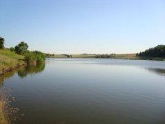 Рыбалка на ставке в с. Довжик Харьковской области-1