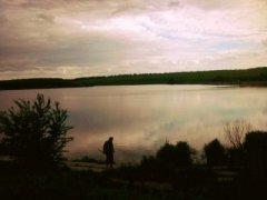 Рыбалка на ставке в с. Морозовка Харьковской области-1