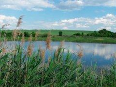 Рыбалка на водохранилище в с. Африкановка Харьковской области-1
