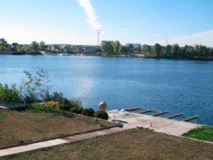 Рыбалка на заливе Десны в с. Осещина Киевской области-1