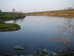 Рыбалка у села Бережинка в Кировоградской области-1