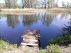 Рыбалка у села Кочеток в Харьковской области-1