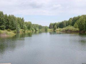 Рыбалка у села Коротяк в Кировоградской области-1