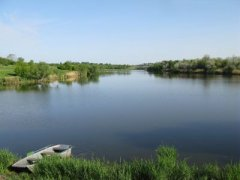 Рыбалка у села Оленовка в Кировоградской области-1