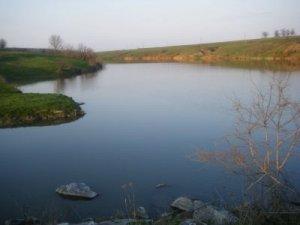 Рыбалка у села Верховцы в Кировоградской области-1
