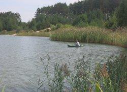Рыбалка у села Лесополь в Ровенской области-1
