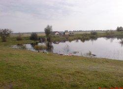 Рыбалка у села Мельница в Волынской области-1