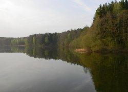 Рыбалка у села Мочулки в Ровенской области-1