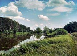 Рыбалка у села на  Деражное в Ровенской области-1