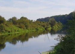 Рыбалка в селе Деражное в Ровенской области-1