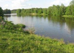 Рыбалка в селе Жильжа в Ровенской области-1