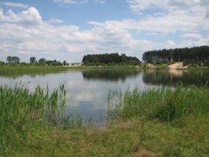 Рыбалка на Костопольском карьере в Ровенской области-7