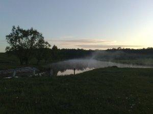 Рыбалка на речке Замчиськ Ровенской области-1