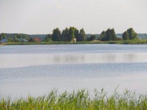 Рыбалка у села Черемошно в Волынской области-1