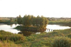 Рыбалка у села Демидовка в Ровенской области-1