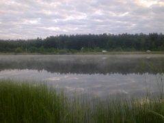 Рыбалка у села Головин в Ровенской области-1