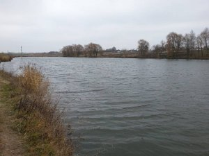 Рыбалка у села Надчицы в Ровенской области-1