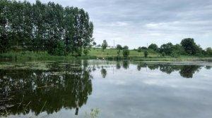 Рыбалка у села Охматков в Ровенской области-1