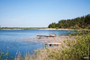 Рыбалка у села Поляны в Ровенской области-1