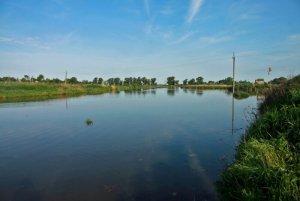 Рыбалка у села Пьянное в Ровенской области-1