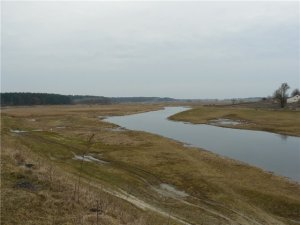 Рыбалка у села Ставров в Ровенской области-1