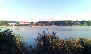 Рыбалка у села Жобрин в Ровенской области-1