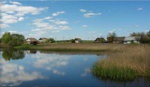 Рыбалка у села Золотолин в Ровенской области-1